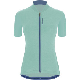 Santini Gravel S/S Jersey Women, azul